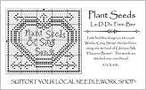 Plant Seeds Free Cross Stitch Chart from La-D-Da