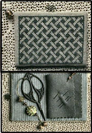 Basket Weave Needle-Keep Kit from La-D-Da - click for details