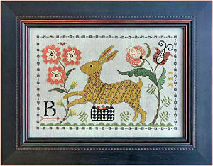 B is for Bunny from La-D-Da - click for details
