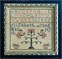 Fetish #2� Elizabeth Longley marking sampler from La-D-Da - click for details