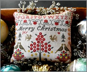 A Merry Christmas Sampler from La-D-Da - click for details