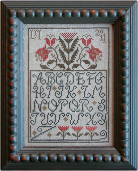 Flowery Alphabet from La-D-Da