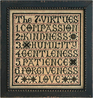 The Seven Virtues from La-D-Da