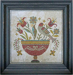 Fraktur Flowers from La-D-Da - click for details