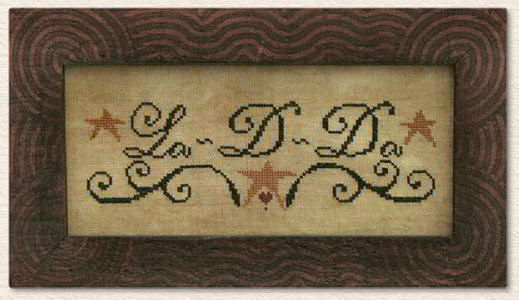 La-D-Da Designs in Counted Cross Stitch
